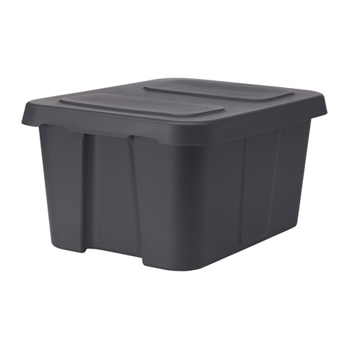 KLÄMTARE kaste ar vāku, telpu/āra