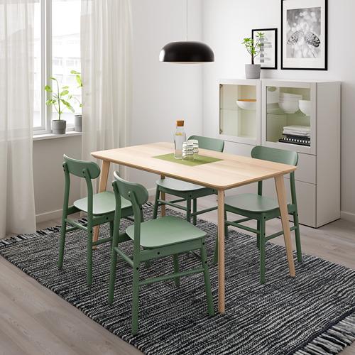 RÖNNINGE/LISABO galds un 4 krēsli