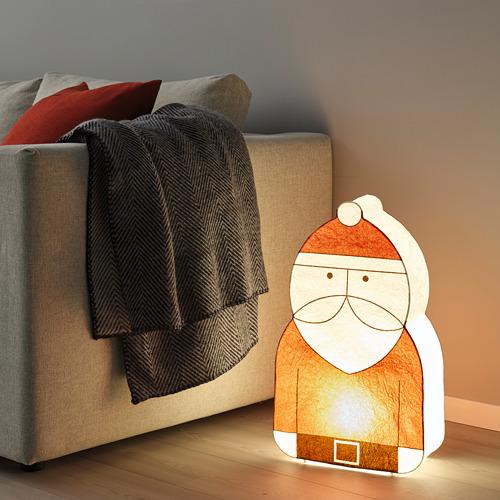 STRÅLA, LED dekoratīvais apgaismojums, 15x53 cm Ziemassvētku vecītis