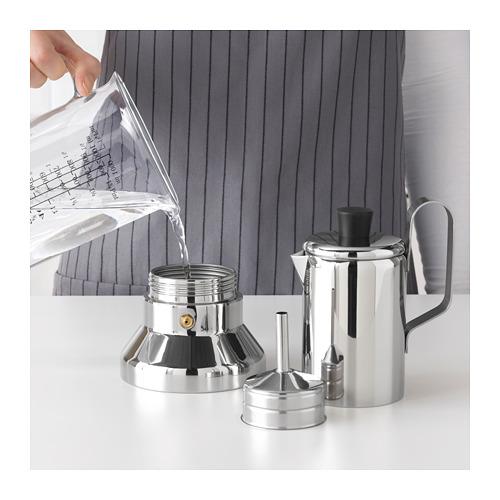 METALLISK espreso kavinukas