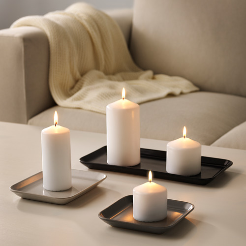SINNESRO žvakidės, 3 vnt.