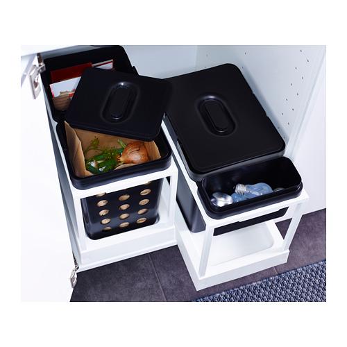 VARIERA vėdinama atliekų rūšiavimo dėžė