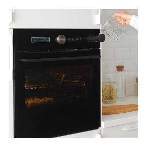 FINSMAKARE духовка с горячим обдувом/пирол/пар