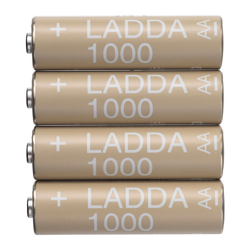 LADDA rechargeable battery