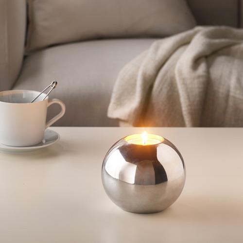 SINNLIG kvapioji žvakė metal. indelyje