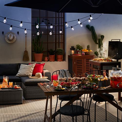 SOLLERÖN modular corner sofa 4-seat, outdoor