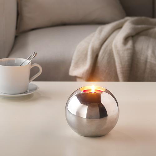 SINNLIG аромат свеча в метал подставке