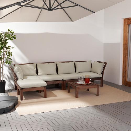 ÄPPLARÖ keturvietė modulinė lauko sofa