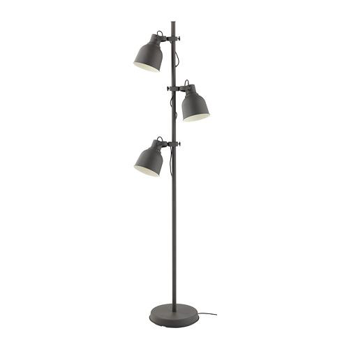 HEKTAR floor lamp with 3-spot