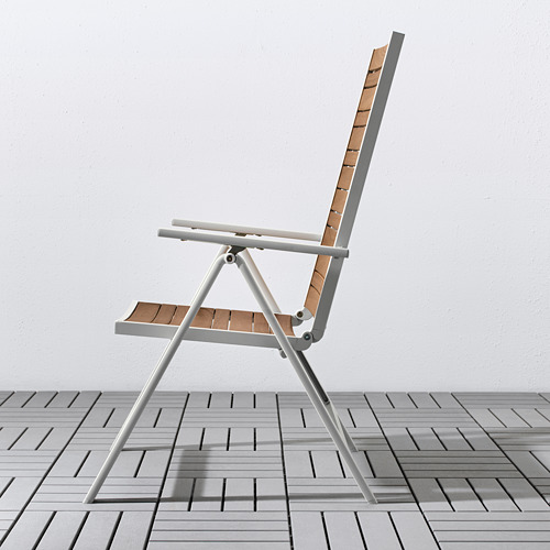 SJÄLLAND lauko stalas+4 atlošiamosios kėdės