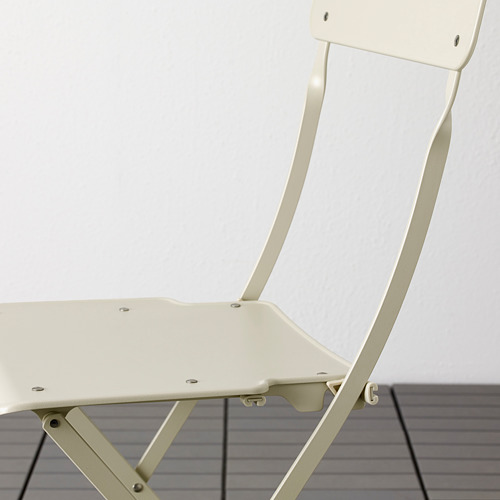 SALTHOLMEN lauko stalas ir 4 sulanks. kėdės