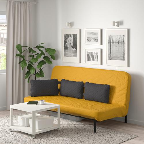 NYHAMN izvelkams dīvāns ar trīs spilveniem
