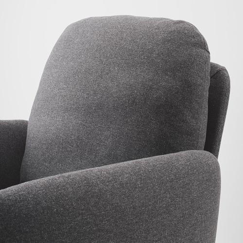 EKOLSUND fotelis su kojų atrama