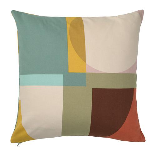 STENMÄTARE spilvena pārvalks, daudzkrāsains, 50x50 cm