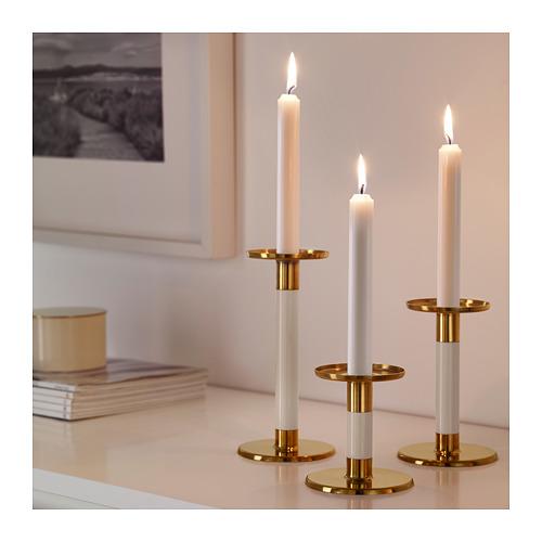 GLITTRIG žvakidė, 3 vnt.