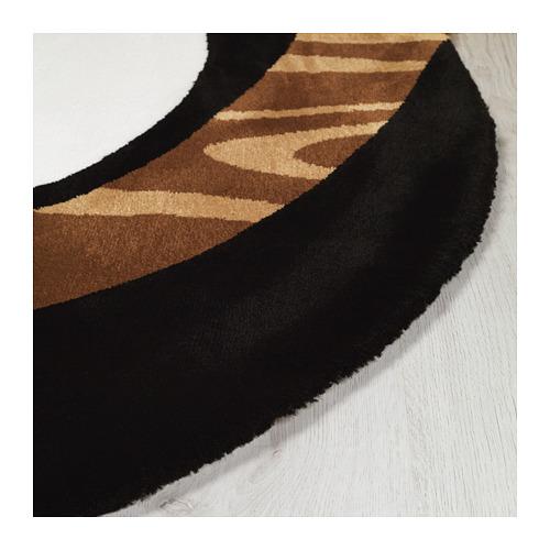 FÖRNYAD paklājs ar īsām plūksnām