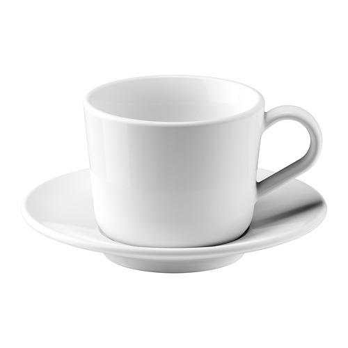 IKEA 365+ puodelis su lėkštute