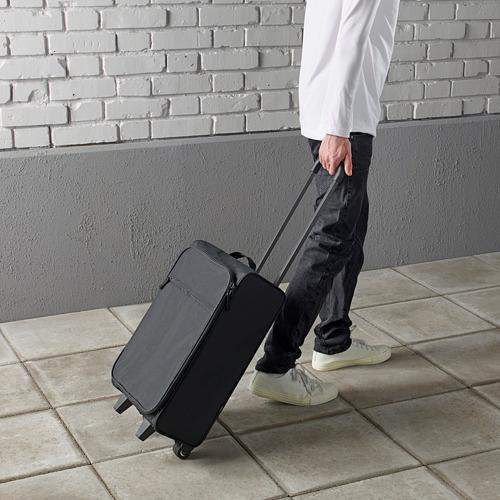 STARTTID rokas bagāžas soma ar ritenīšiem