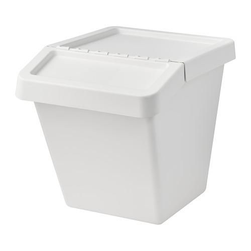 SORTERA atliekų rūš. dėžė su dangčiu