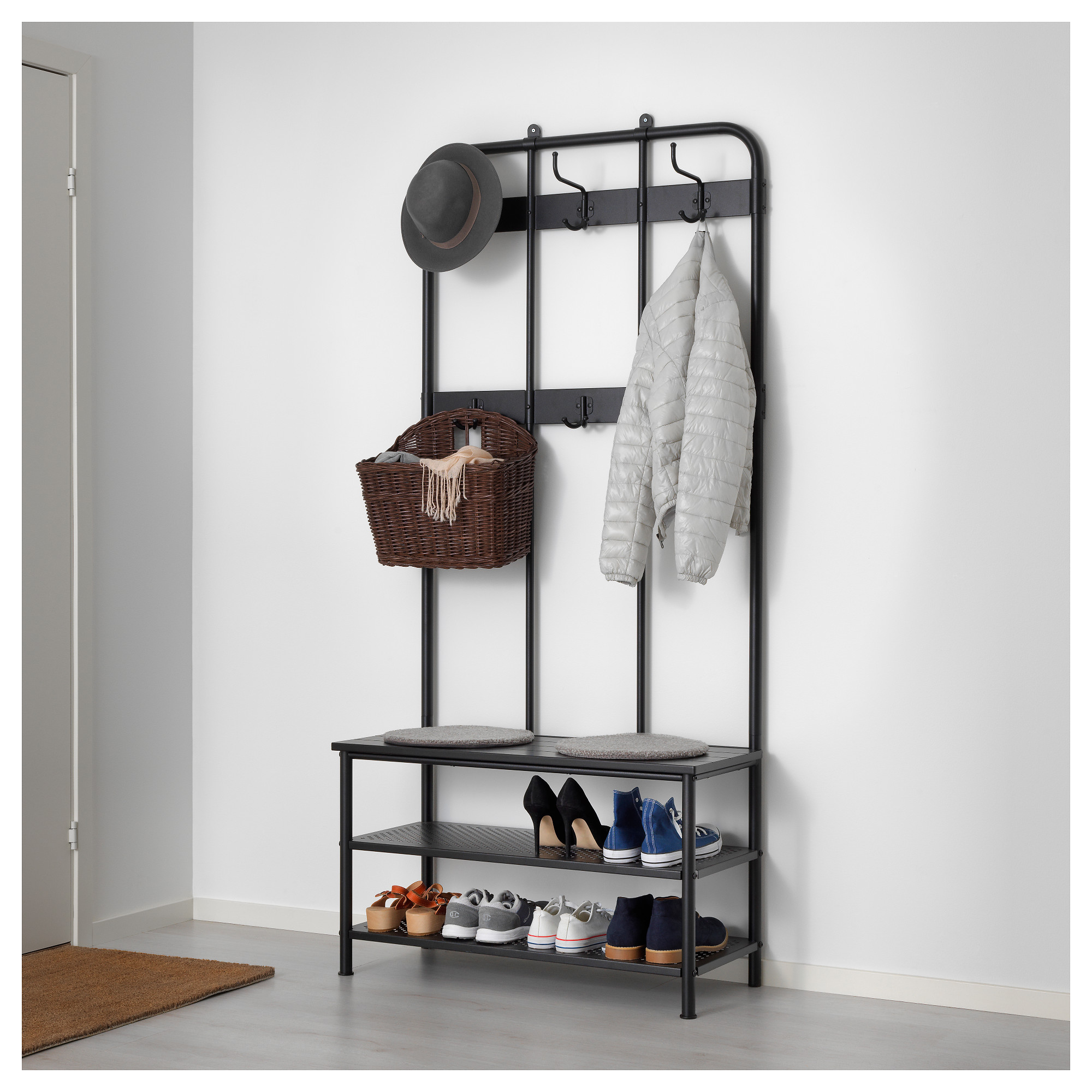 Coat Rack With Shoe Storage.Ikea Lithuania Shop For Furniture Lighting Home