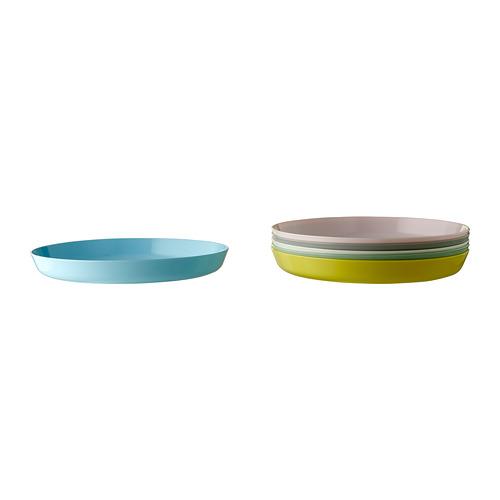 KALAS,šķīvis, Ø19 cm dažādās krāsās, 6gb.