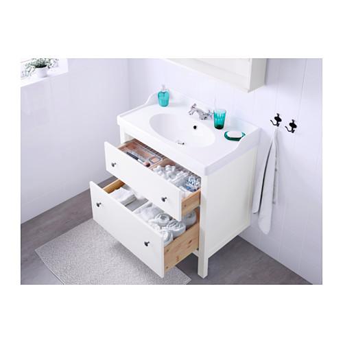 HEMNES/RÄTTVIKEN шкаф для раковины с 2 ящ