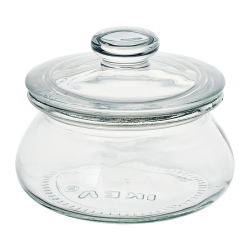 VARDAGEN jar with lid