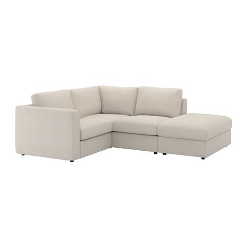 VIMLE trivietė kampinė sofa