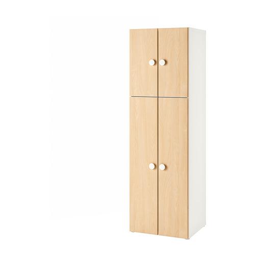 FÖLJA/STUVA skapis ar 4 durvīm