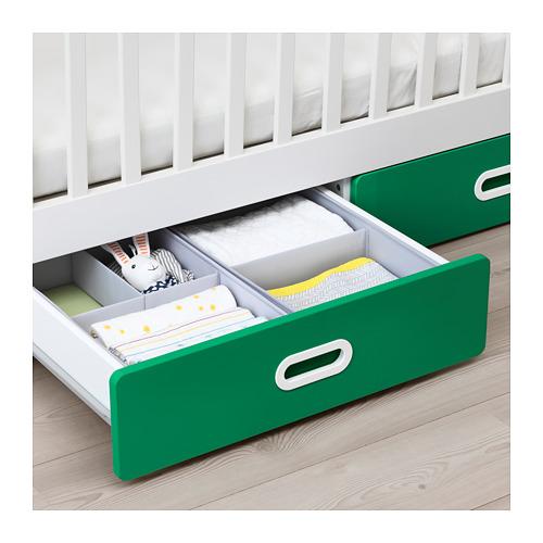 STUVA/FRITIDS bērnu gultiņa ar atvilktnēm