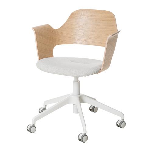 FJÄLLBERGET krēsls ar ritenīšiem