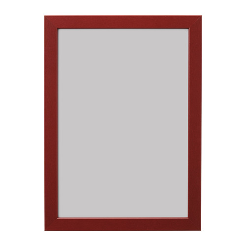 FISKBO rāmis, 21x30 cm,  tumši sarkanā krāsā