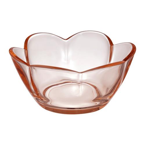 VANLIGEN svečturis tējas svecei, 4x Ø9 cm gaiši rozā