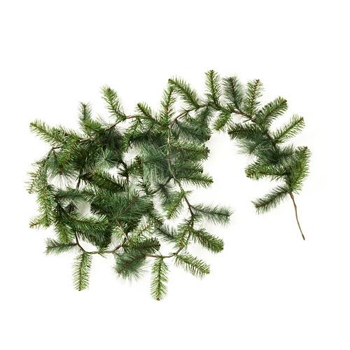 SMYCKA mākslīgo ziedu virtene, 3 m lietošanai telpās vai ārā/priežkoks egle