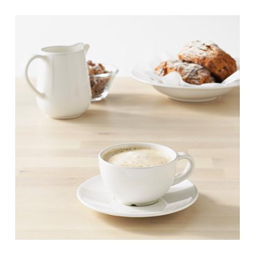 VARDAGEN kavos puodelis su lėkštute