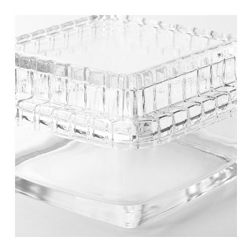 SAMMANHANG stiklinė dėžutė su dangčiu
