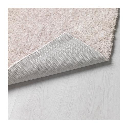 LINDKNUD paklājs ar garām plūksnām