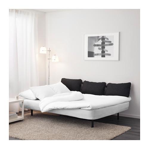 NYHAMN trīsvietīgs guļamdīvāns