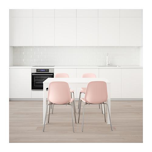 LEIFARNE/EKEDALEN stalas ir 4 kėdės