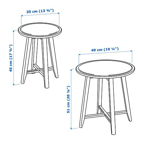 KRAGSTA staliukų rinkinys, 2 vnt.