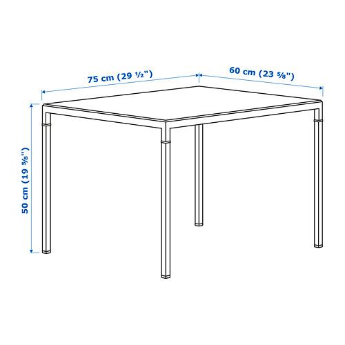 NYBODA galdiņš ar abp. lietojamu virsmu