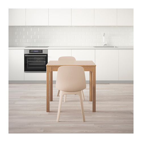ODGER/EKEDALEN stalas ir 2 kėdės