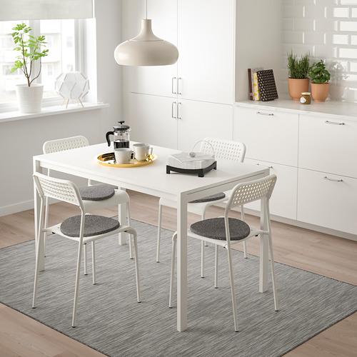MELLTORP/ADDE stalas ir 4 kėdės