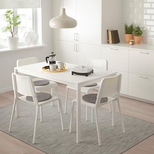 MELLTORP/TEODORES stalas ir 4 kėdės