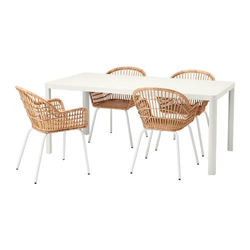 TINGBY/NILSOVE galds un 4 krēsli