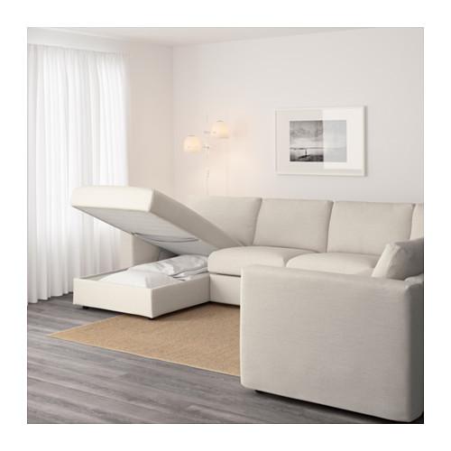 VIMLE kampinė penkiavietė sofa