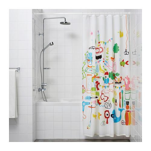 BOTAREN shower curtain rod