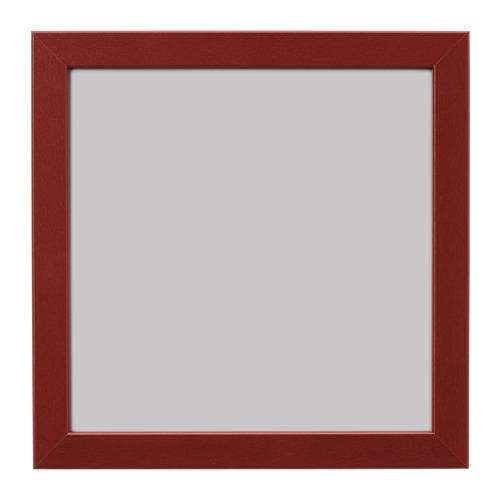 FISKBO rāmis, 21x21 cm, tumši sarkanā krāsā