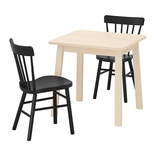 NORRÅKER/NORRARYD galds un 2 krēsli