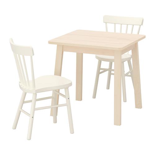 NORRARYD/NORRÅKER stalas ir 2 kėdės